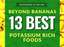 Beyond Bananas: 13 Best Potassium Rich Foods at blog.essense-of-life.com