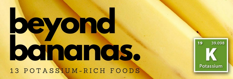 Beyond Bananas: 13 Potassium-Rich Foods ©2017 Essense of Life