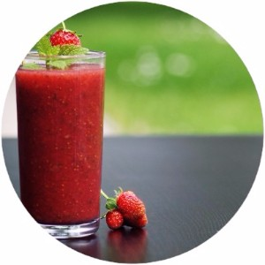Budwig Quark Flaxseed Smoothie