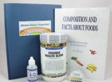 Alkaline Diet Support Basic Package at www.essense-of-life.com