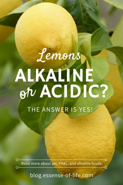 Are Lemons Alkaline or Acidic? The Answer is Yes!
