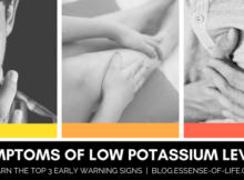 3 Symptoms of Low Potassium ©2018 blog.essense-of-life.com