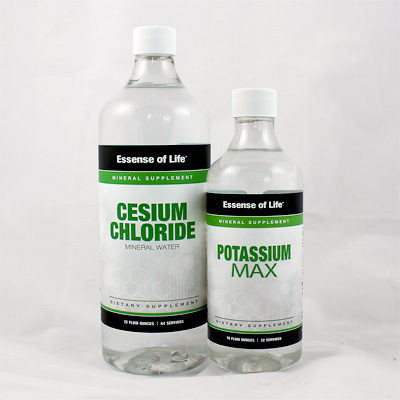 Cesium Chloride with Potassium at www.essense-of-life.com