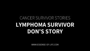 Lymphoma Survivor – Don's Story