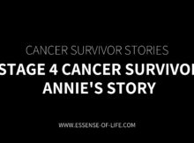 Stage 4 Cancer Survivor – Annie's Story
