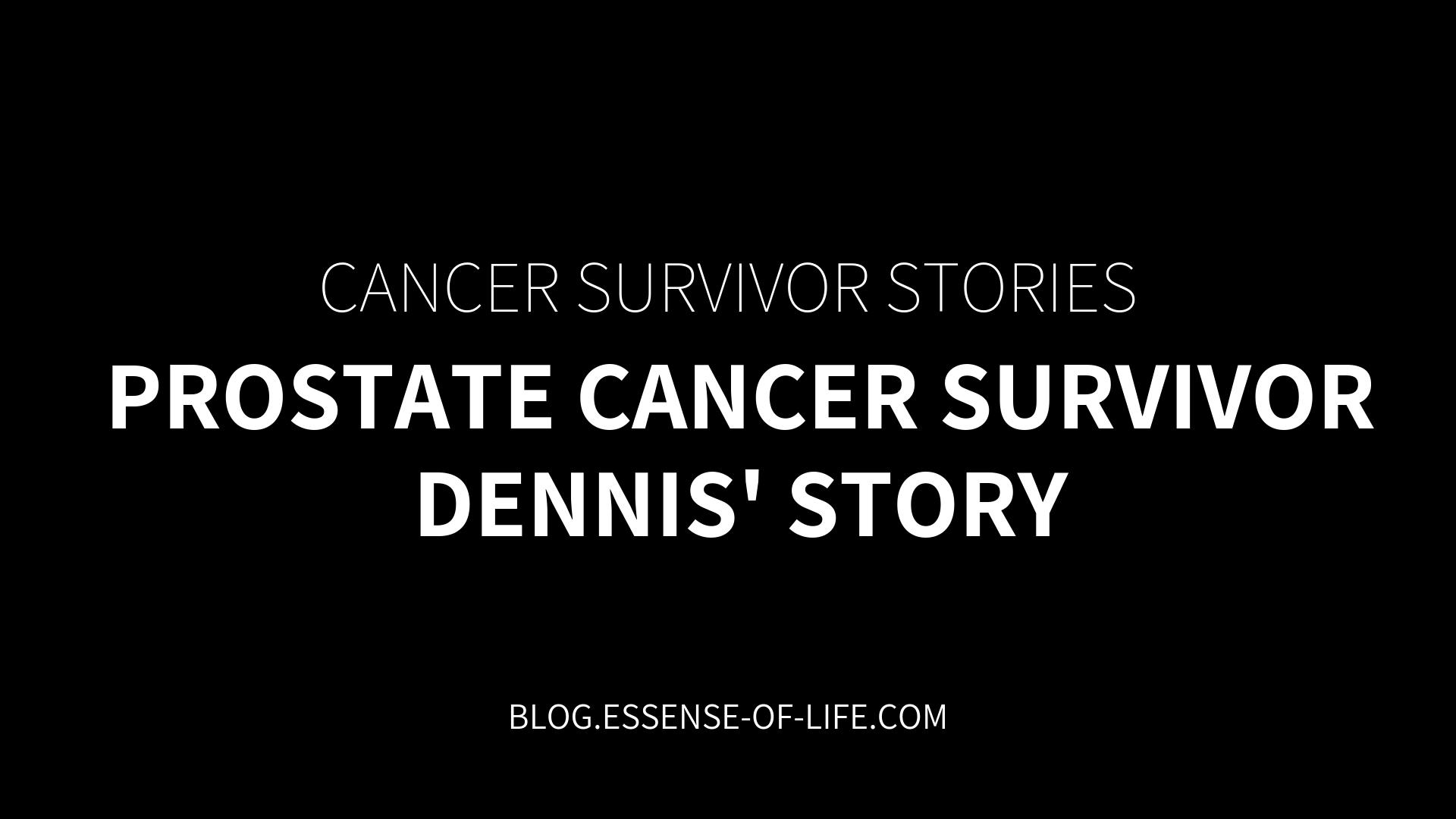 prostate cancer survivors blog)