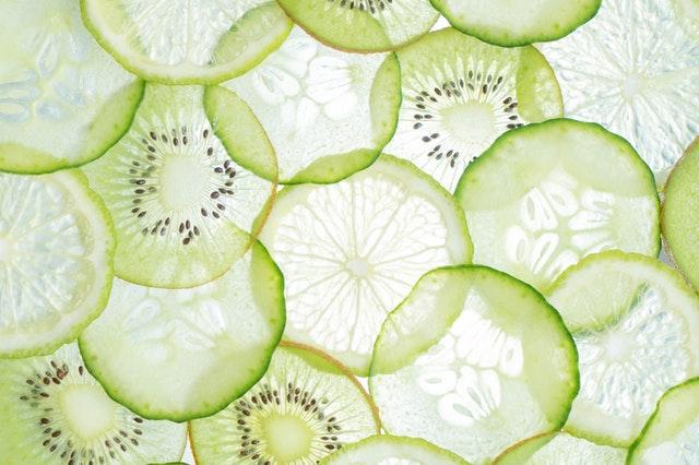 Light Kiwi Lime Cucumber Green Smoothie